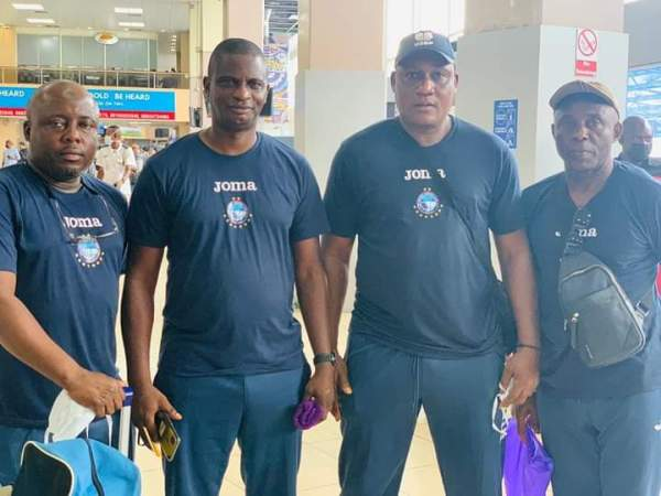 TotalCAFCC: Enyimba leave Nigeria for Pyramids tie
