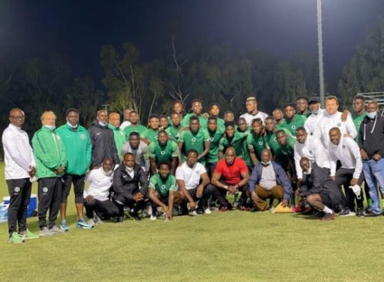 Mexico vs Nigeria: Pinnick charges Super Eagles in LA