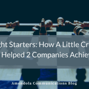 Thought Starters: How A Little Creative Thinking Helped 2 Companies Achieve A Win
