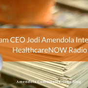 Jodi Amendola Healthcare Radio Now interview