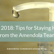 HIMSS 2018: Tips for Staying Healthy from the Amendola Team
