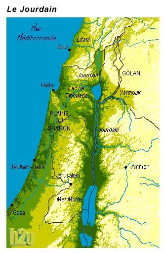 Le JOURDAIN, le fleuve Sacré du Moyen-Orient, meurt
