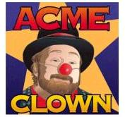 Acme Clown Tattoo