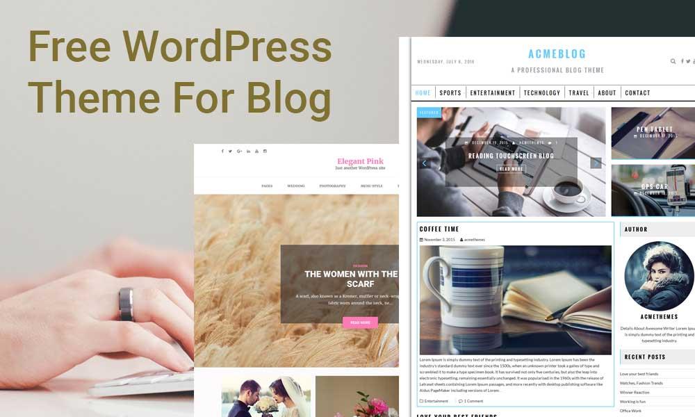 free-wordpress-theme-for-blog - Acme Themes