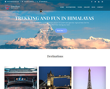 Travel Way - Travel, Tours & Treking WordPress Themes