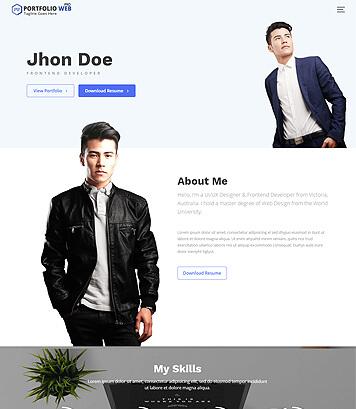 Portfolio Web Pro