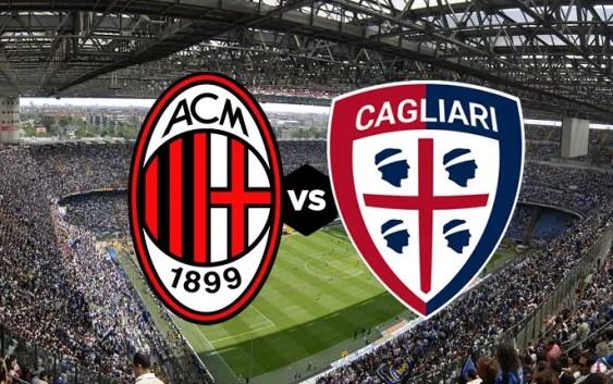 Milan Vs Cagliari: Milan Vs Cagliari, Official Lineups