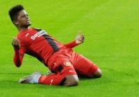 Bayer Leverkusen set Leon Bailey price tag