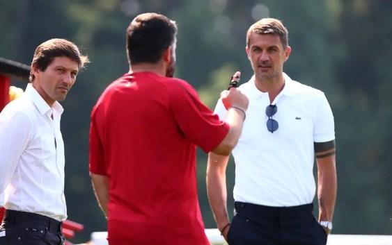Gattuso, Leonardo, Maldini