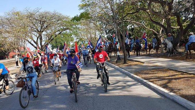 En desarrollo jornada dominical de II Caravana Mundial contra el Bloqueo