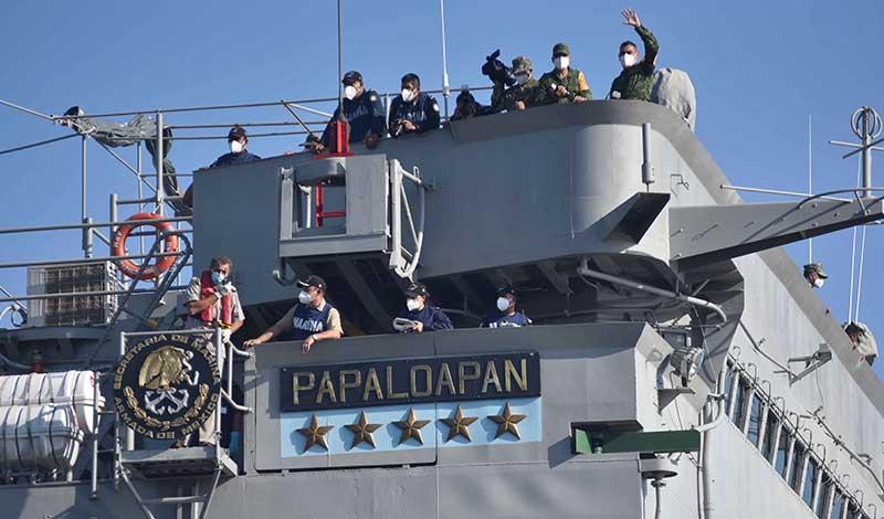Cuba recibe segundo buque con donaciones de México