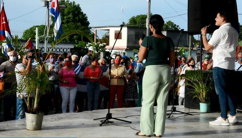 Por el futuro de Cuba toman las calles revolucionarios pineros
