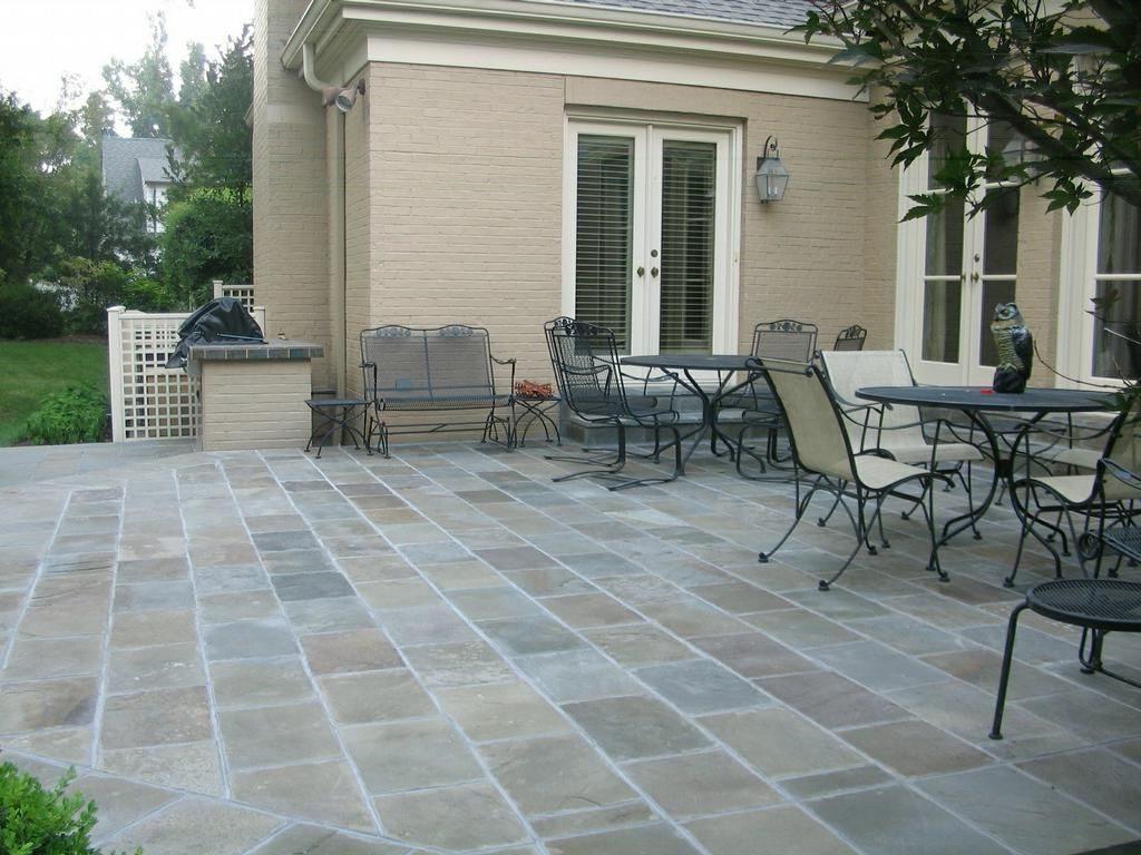outdoor patio flooring ideas of