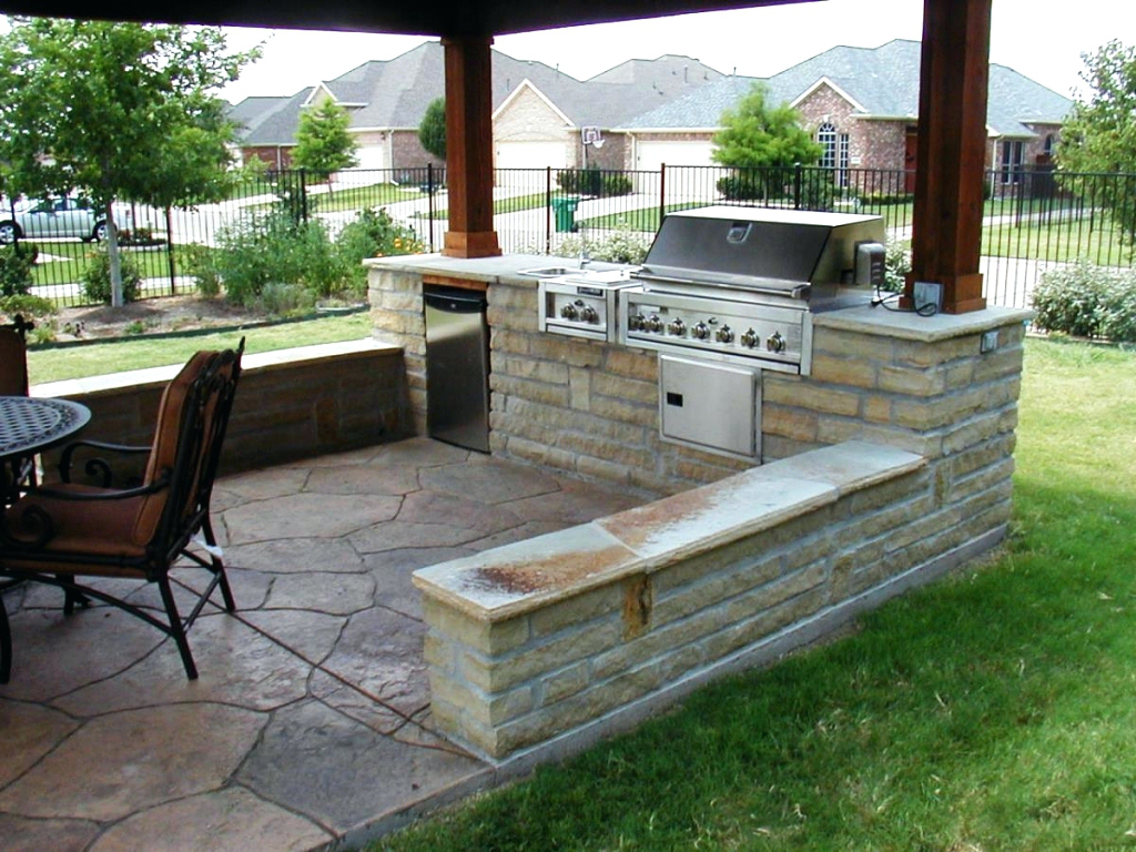 Entrancing Bbq Grill Design Ideas Of Backyard Barbecue ... on Outdoor Grill Patio id=33375