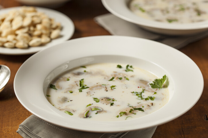 Old-fashioned Oyster Stew