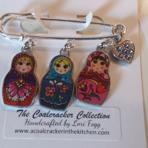 matroyshka pin jewelry