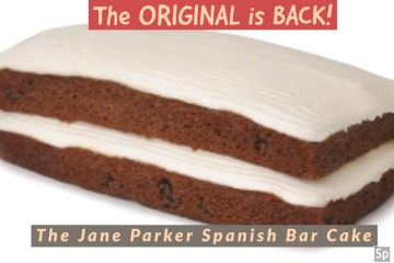 The real A&P Spanish Bar Cake