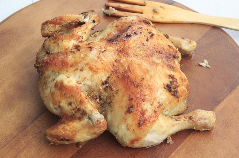 Classic Whole Roasted Chicken