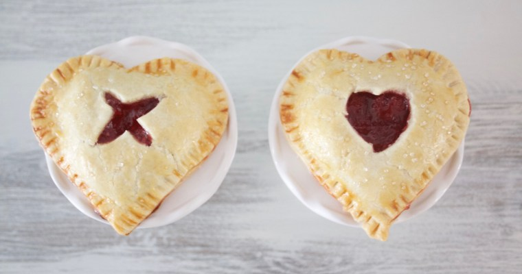 Heart Shaped Cherry Pie Recipe