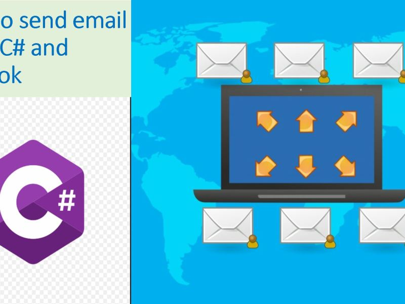 How to send email using C# and Outlook com