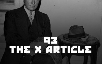 #93 – The X Article