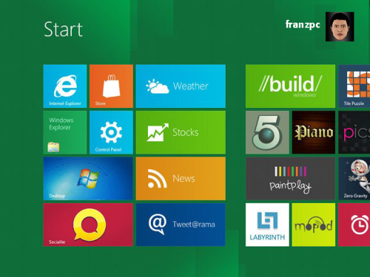 Windows 8 Preview