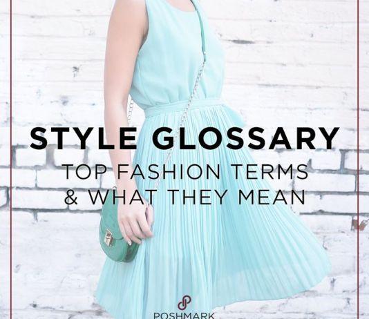 fashion terms