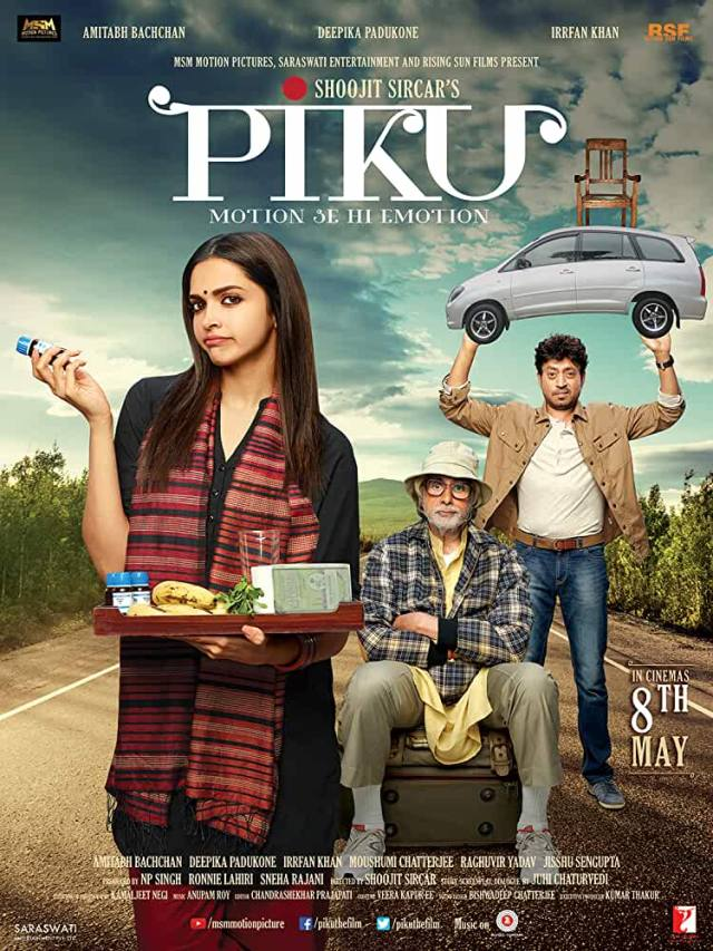 Straight up, Piku is delightful, a cinematic rasgulla, dipped in the sweet, dark rum of life.