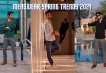 Menswear Fashion Trends