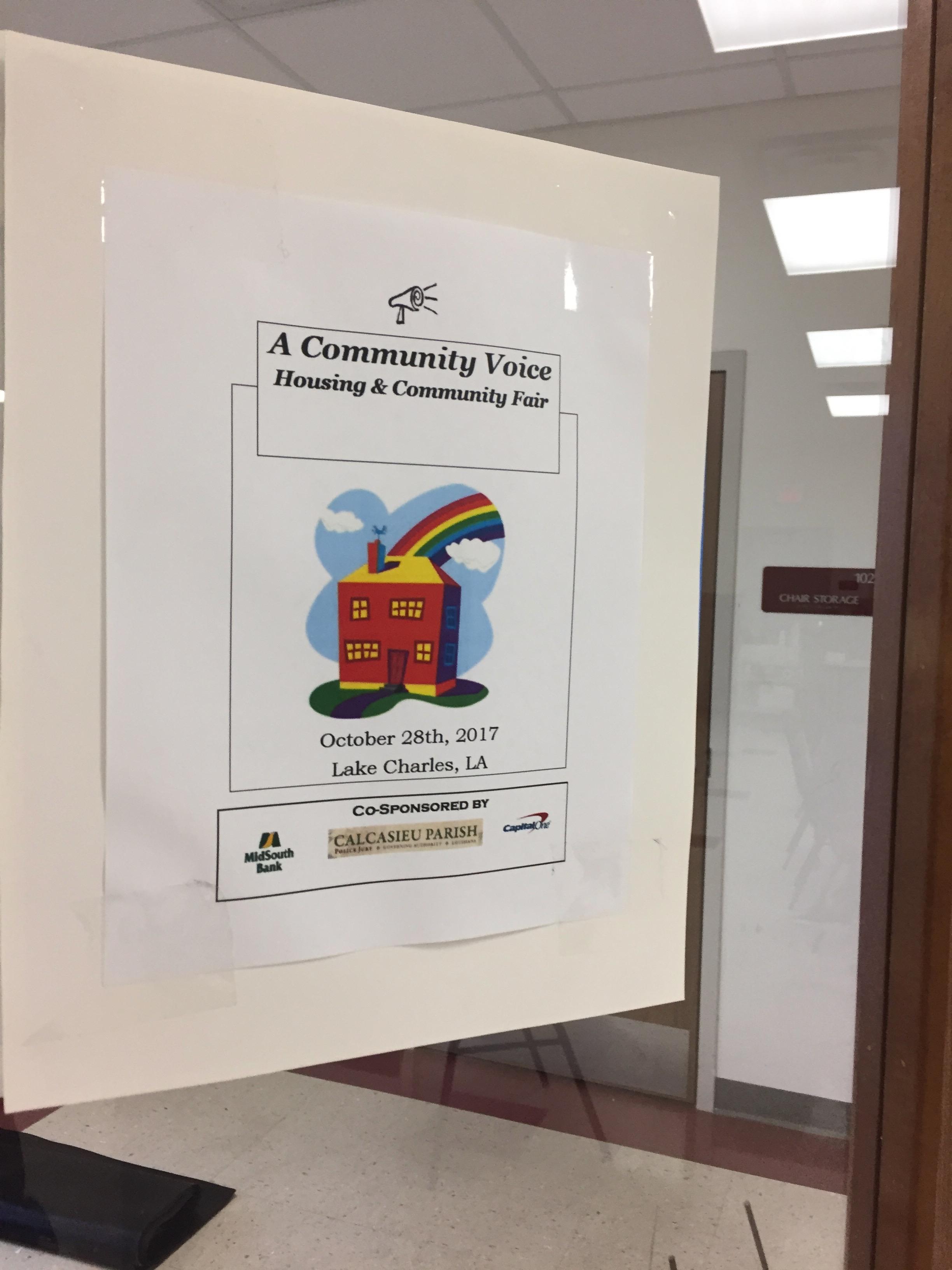 Housing – A Community Voice ~ Louisiana