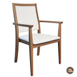 chaise avec accoudoirs acomodo