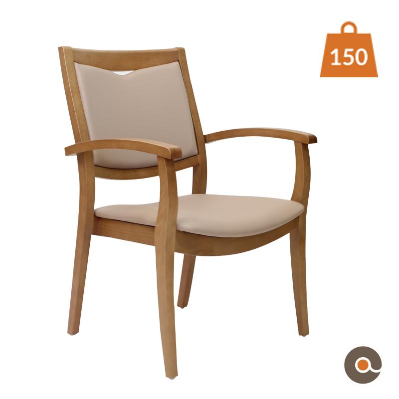 chaise solide et confortable pour une