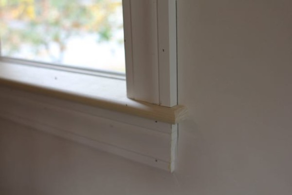 How to install interior window sill trim - Interior window sill replacement ...