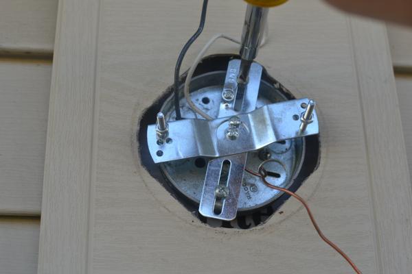 Replacing Light Fixture