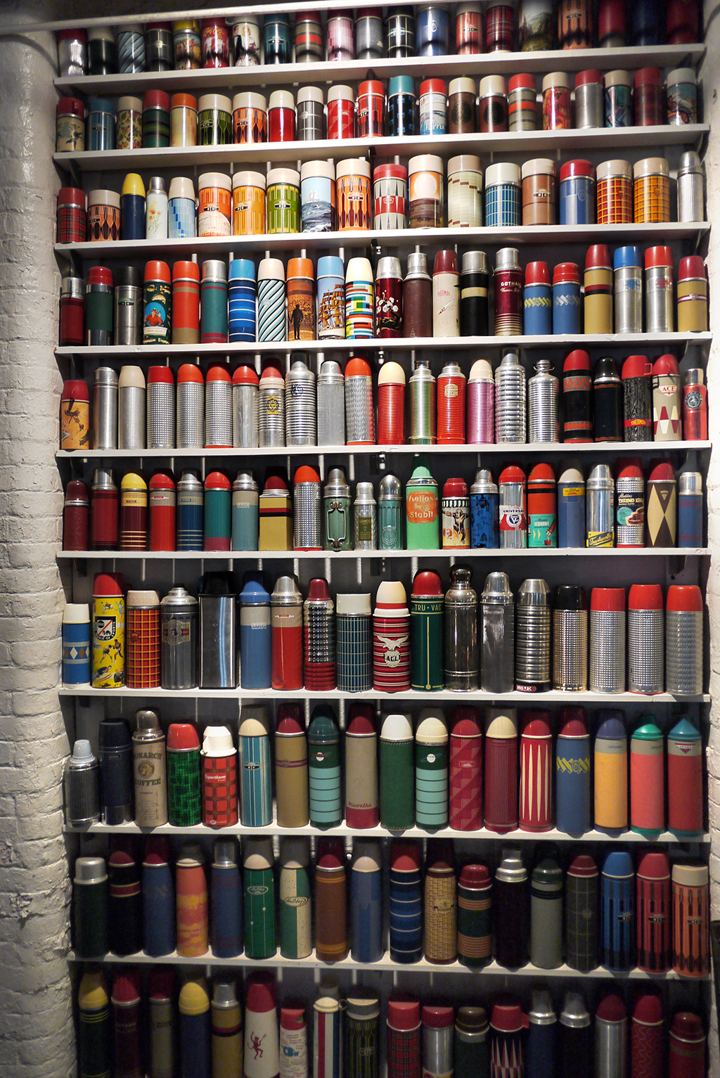 The Great American Thermos Hoard :: via A Continuous Lean