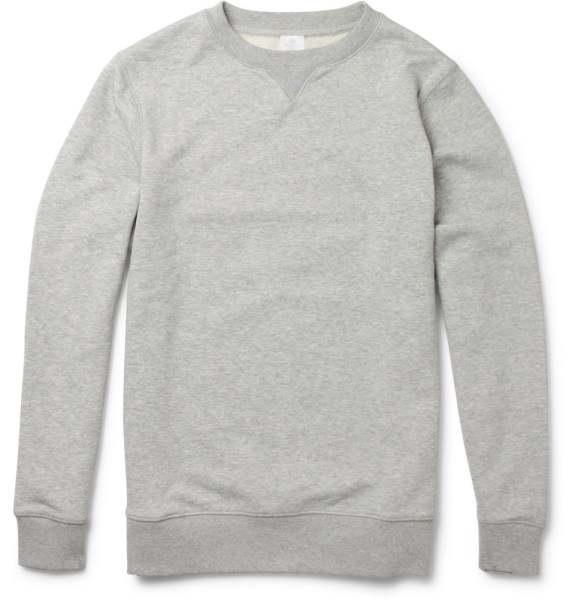 The Grey Crewneck | Essentially Essential | A Continuous Lean.