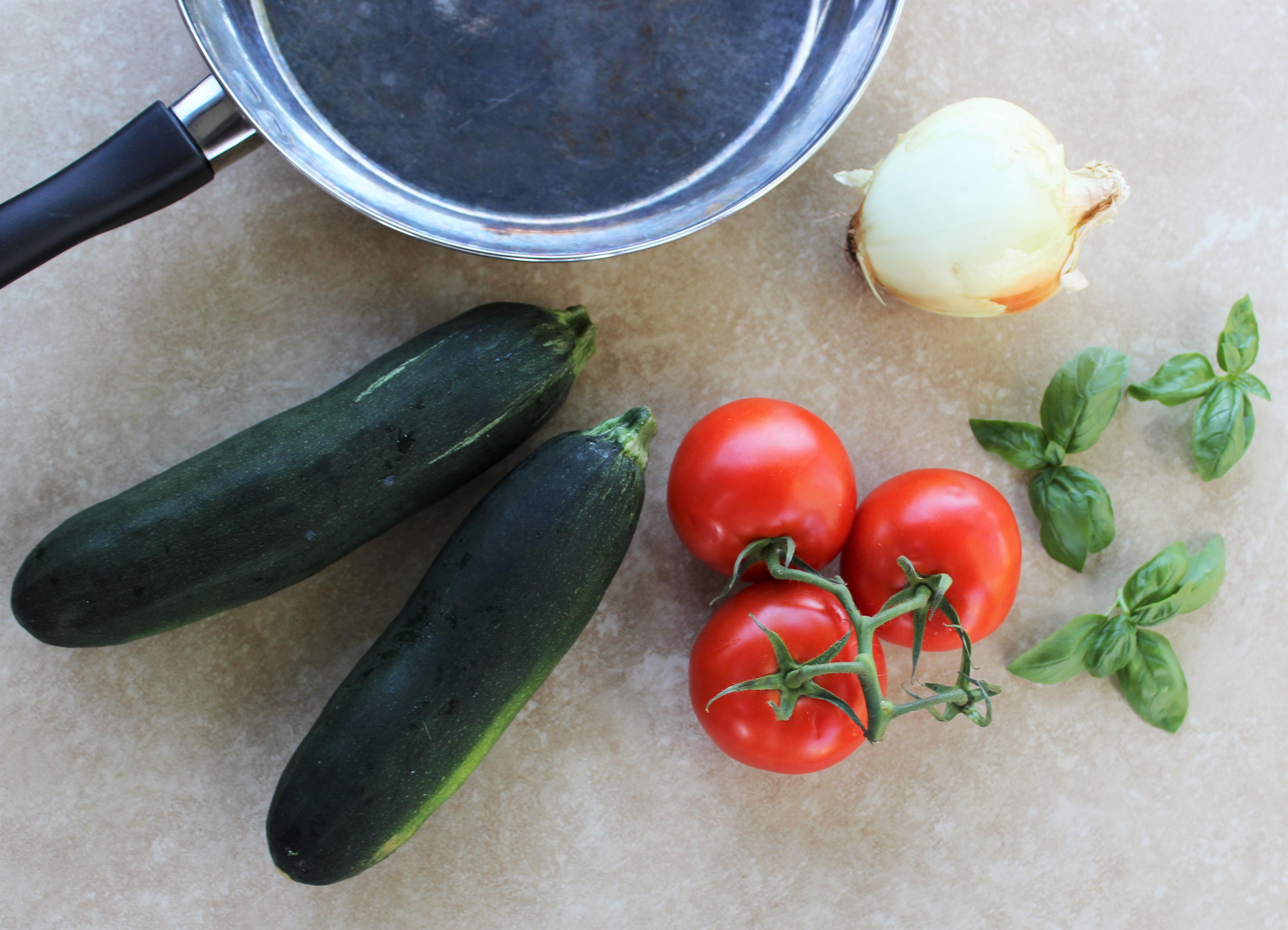 Tomato, Zucchini, and Mozzarella Bake 2