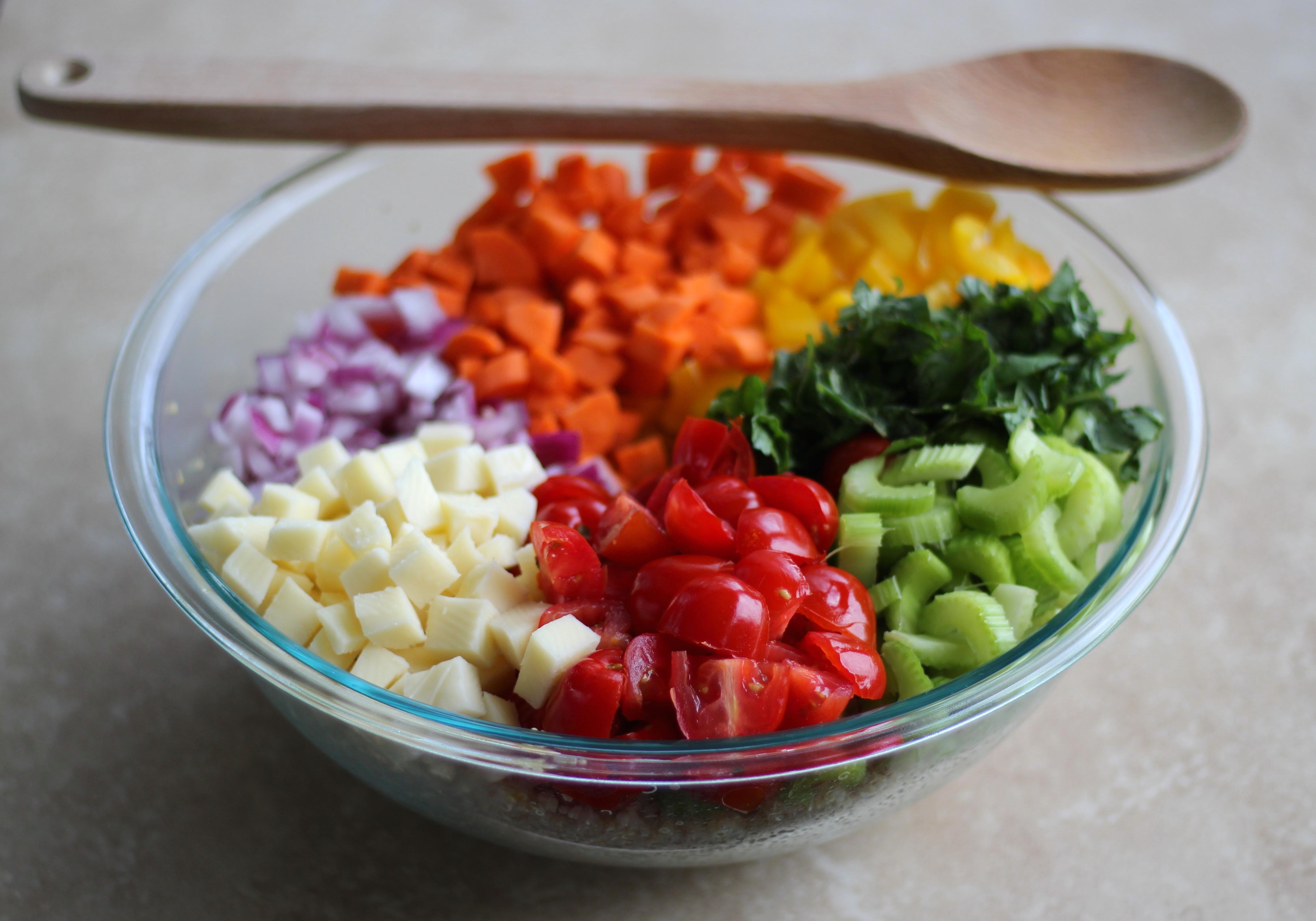 Quinoa Garden Pasta Salad 2