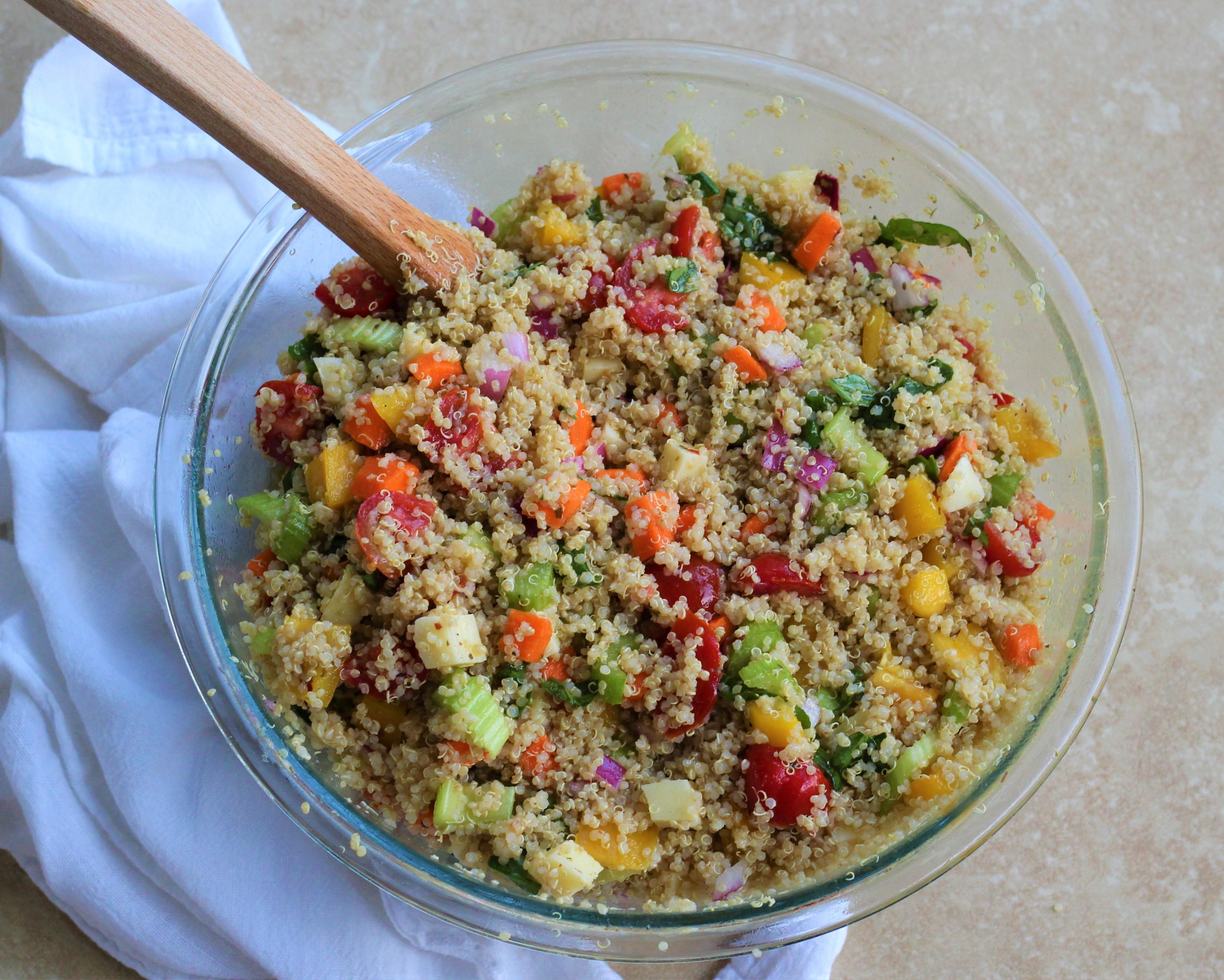 Quinoa Italian Pasta Salad 1