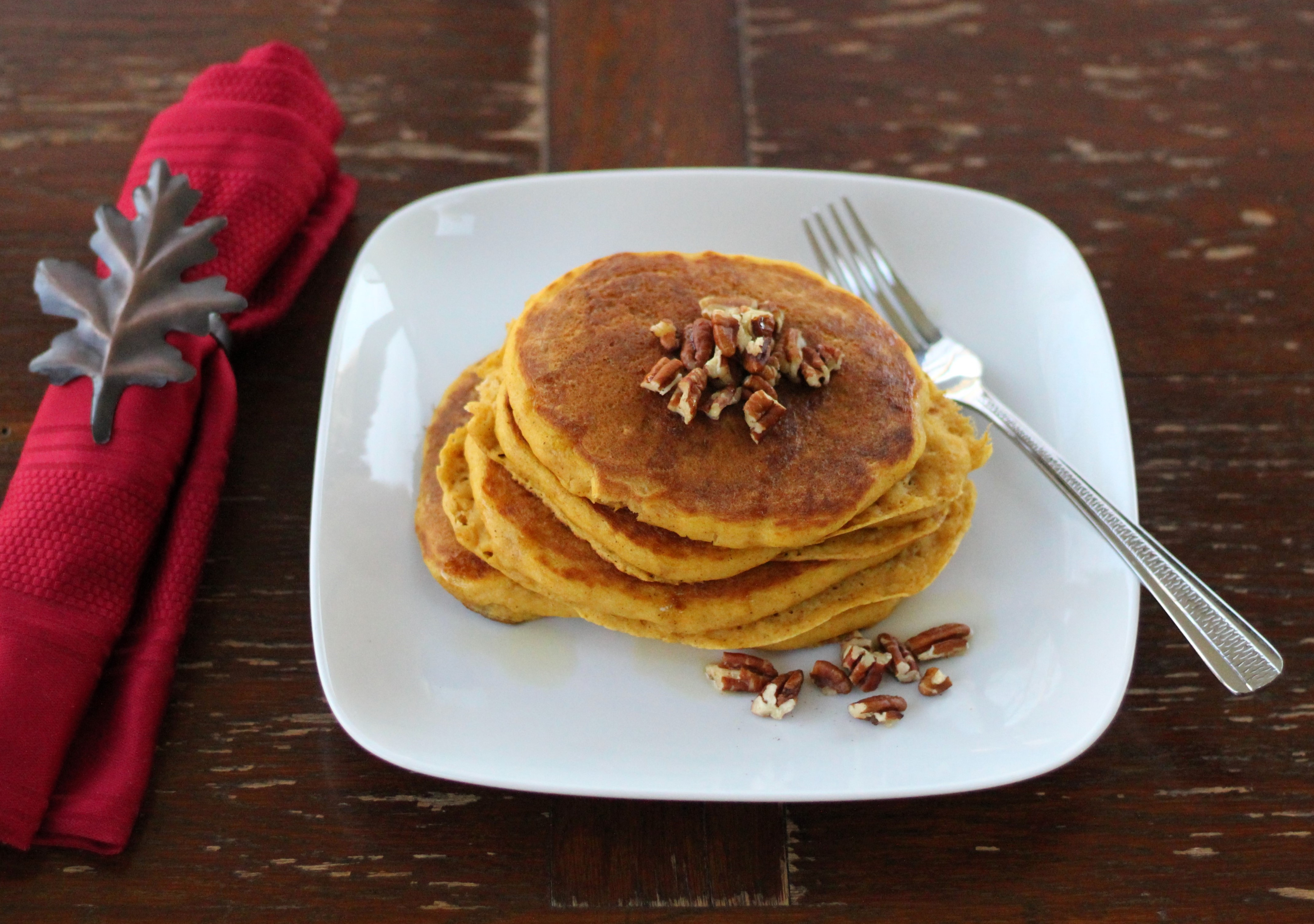 Pumpkin Buttermilk Pancakes 1
