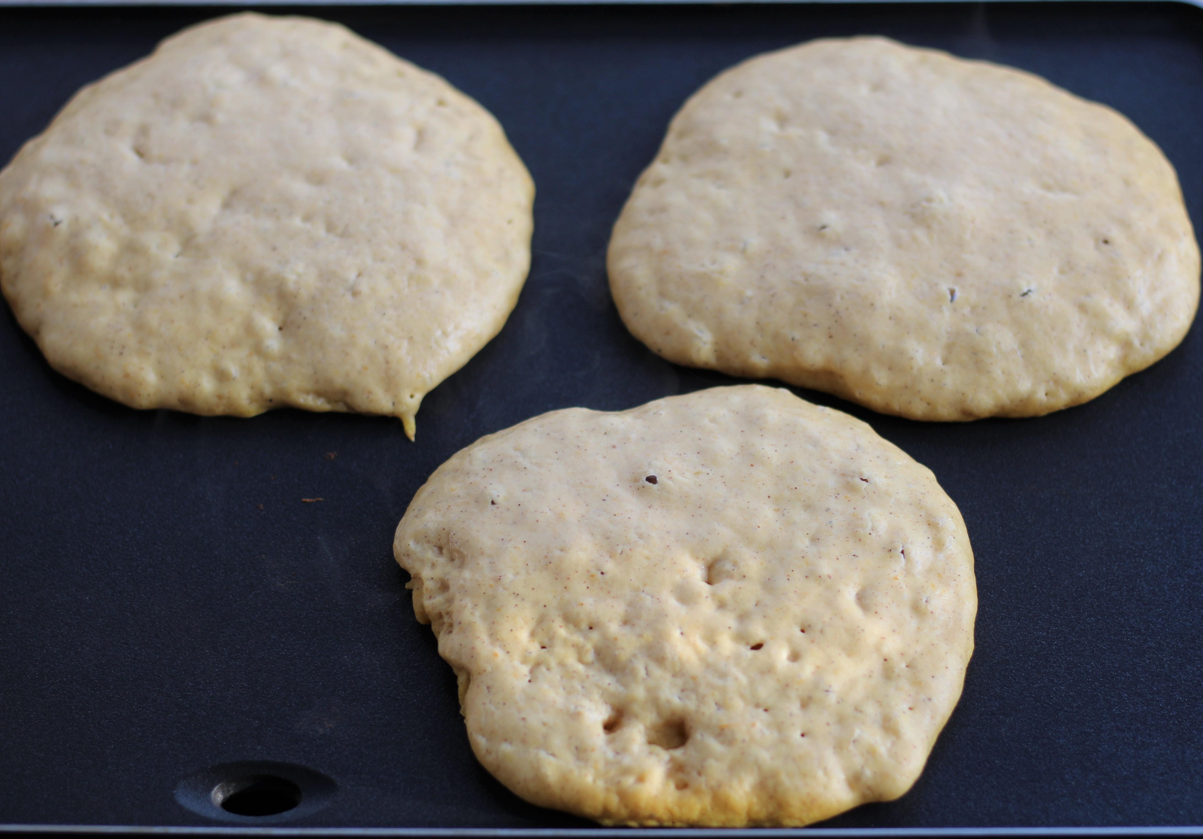Pumpkin Buttermilk Pancakes 3