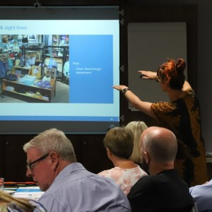 Charities receiving Visual Merchandising training