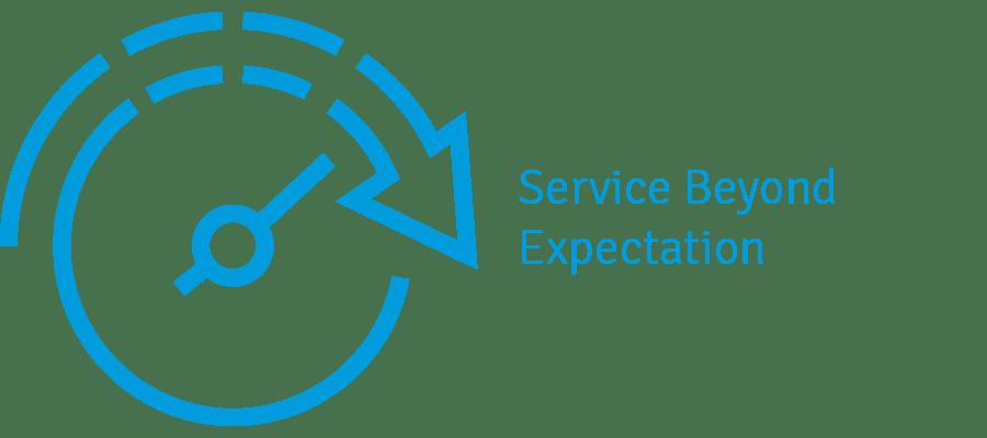 service beyond 01