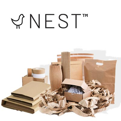 Nest ecommerce packaging