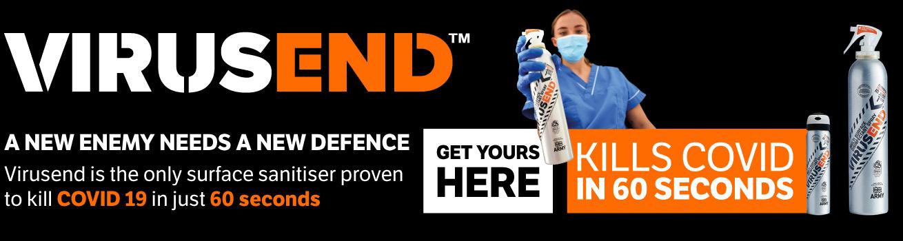 Virusend Covid 19 Sanitiser