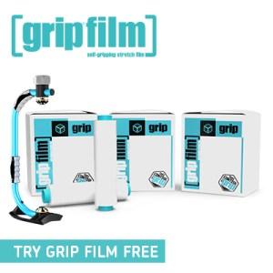 Grip Film Hand Pallet Wrap