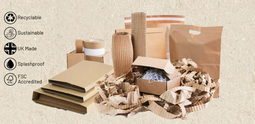 Our cardboard shortage beater! The ecofriendly NEST packaging range