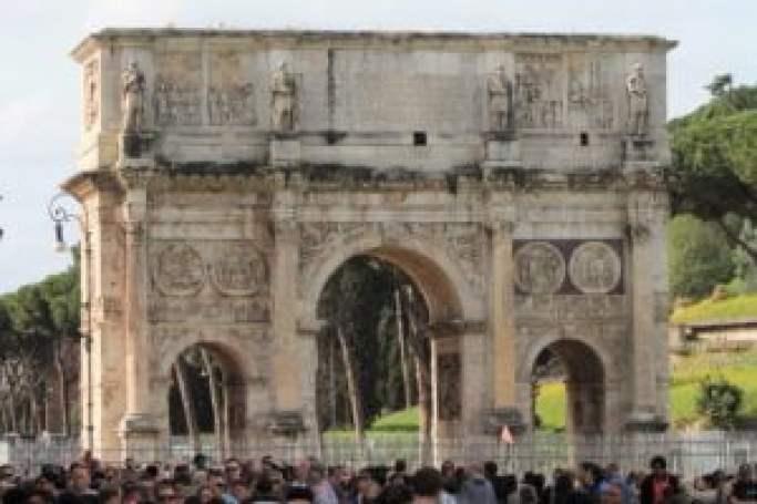 Curiosidades sobre o Império Romano - Arco de Constantino