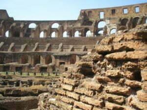 Curiosidades sobre o Império Romano - Parte interna do Coliseu