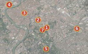Curiosidades sobre o Império Romano - Mapa